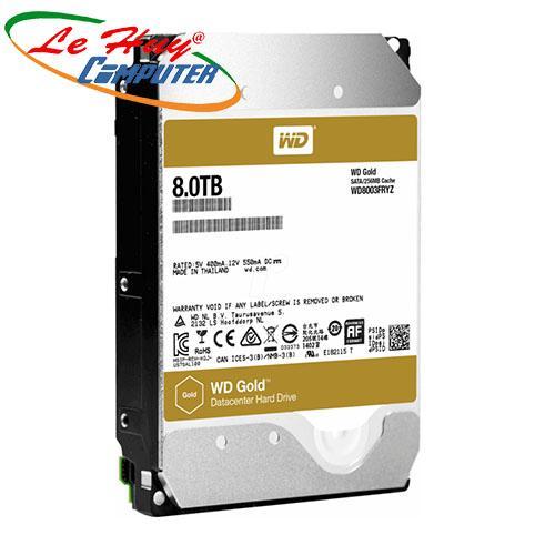 Ổ Cứng HDD Western 8TB - WD8003FRYZ Enterprise (GOLD)