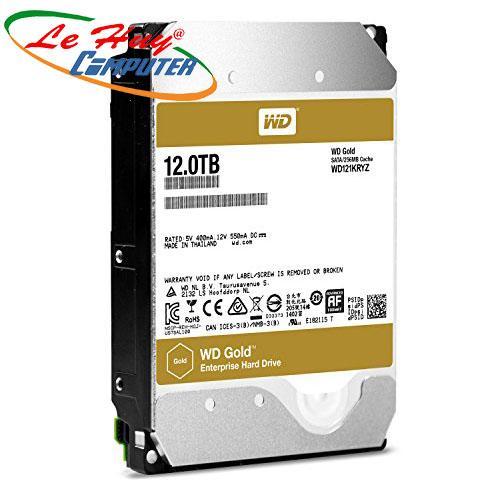 Ổ Cứng HDD Western 12TB - WD121KRYZ Enterprise (GOLD)