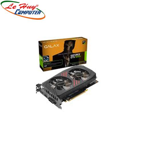 Card Màn Hình - VGA GALAX GTX 1050Ti (1 Click OC) 4GB