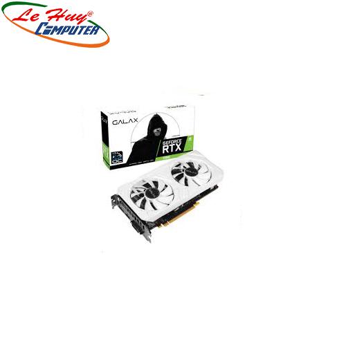 Card Màn Hình - VGA RTX 2060 EX (1 Click OC) WHITE 6GB GDDR6