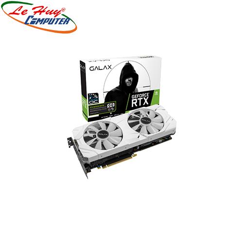 Card Màn Hình - VGA RTX 2070 EX (1 Click OC) WHITE 8GB GDDR6