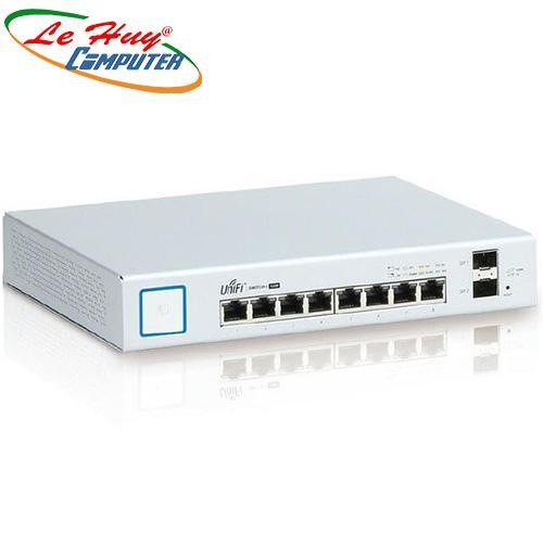 Thiết bị chuyển mạch Switch Gigabit 8 Port Unifi US-8-150W