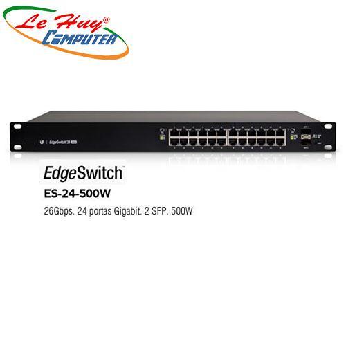 Thiết bị chuyển mạch Switch Gigabit 24 Port UniFi ES-24-500W