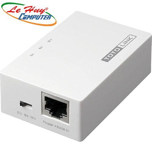 Thiết bị chuyển mạch Switch TOTOLINK POE200- Nguồn PoE (gộp tín hiệu Data và Power)