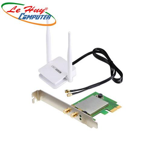 Card Mạng Wireless TOTOLINK A1200PE- AC1200 Wireless Dual Band PCI-E Adapter
