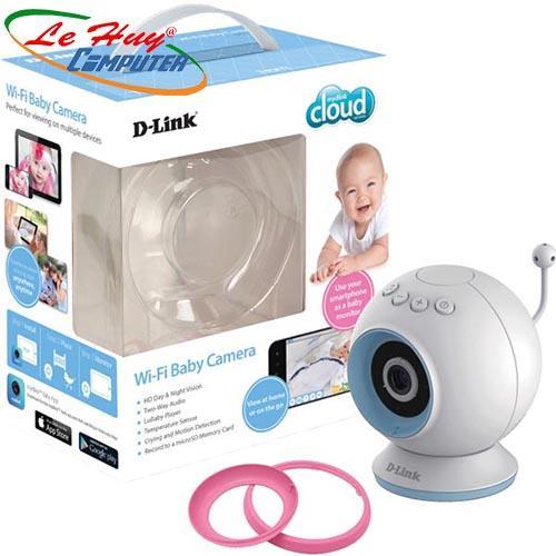 Camera IP Baby không dây hồng ngoại D-Link DCS-825L