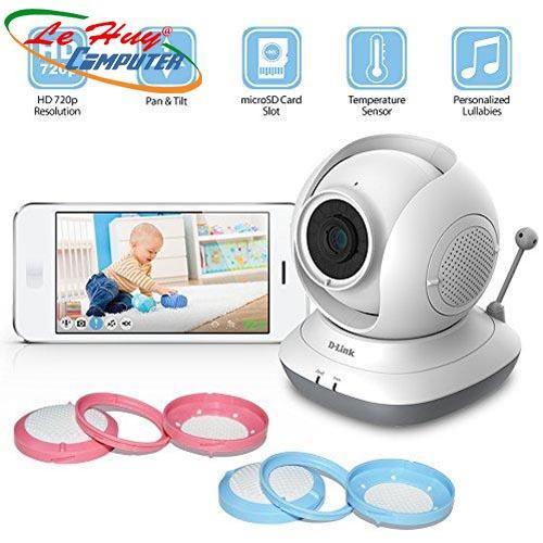 Camera IP Baby không dây hồng ngoại D-Link DCS-850L