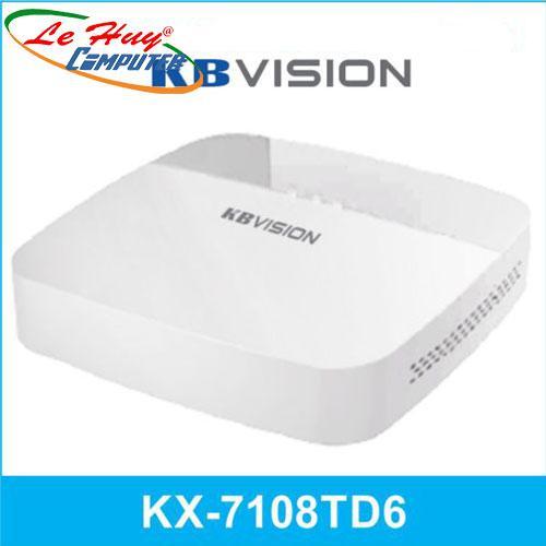 Đầu ghi hình 8 kênh 5 in 1 KBVISION KX-7108TD6 HD CVI(VỎ NHỰA)