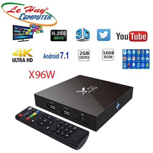 TIVI BOX X96W  RAM 2G/16G ANROID(BLUETOOTH)