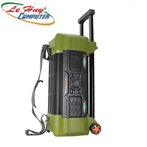 Loa Kéo Di Động BD-H068Y LED (USB/TF/BT)-Loa Bass: 2 x 2.5 tấc, 80W
