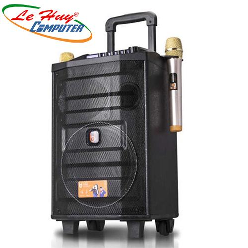 Loa Kéo Di Động BD - H0886YS LED (USB/TF/BT) 2 Tấc-80W
