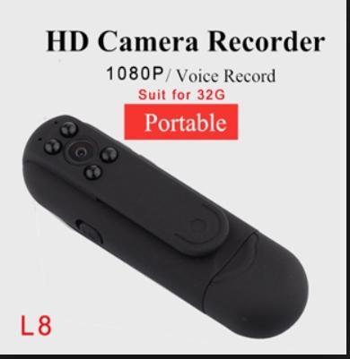 Camera ngụy trang siêu nhỏ có hồng ngoại, hình ảnh 1080P-L8(không wifi)