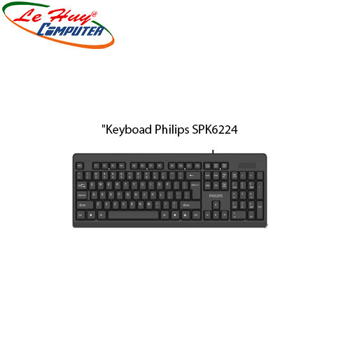 Keyboad Philips SPK6224 (USB)+VAT35K