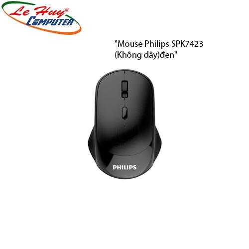Mouse Philips SPK7423 (Không dây)đen