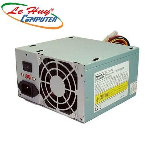 Nguồn máy tính Thermal 350w fan 8cm, (4pin ) CPU, 2 sata, 4 ata ,màu bạc