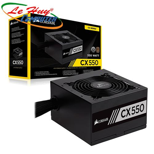 Nguồn máy tính Corsair CX550 - 80 Plus Bronze