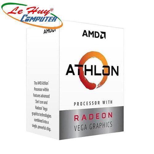 Bộ vi xử lý - CPU AMD Ryzen Athlon 240GE (2 nhân-4 luồng/ 3.5GHz)