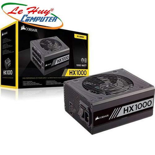 Nguồn máy tính Corsair HX1000 - 80 Plus Platinum - Full Modul