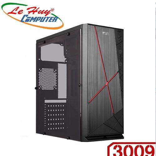 Vỏ máy tính VSP 3009 Full Kính bên hông trong suốt sơn tĩnh điện