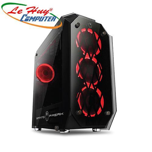 Vỏ máy tính Gaming Freak GFG-M800G KÍNH CƯỜNG LỰC + 4 FAN LED