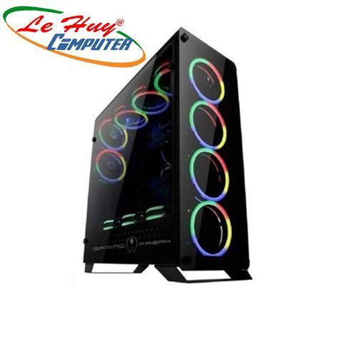 Vỏ máy tính Gaming Freak GFG-905G CASE GƯƠNG CÓ 4 FAN LED RGB