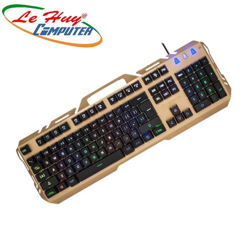 Bàn phím Coolerplus CPK-X3/X4 LED ĐA SẮC, XUYÊN NÚT