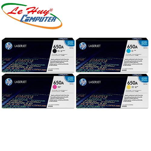 Cartridge HP 650A Black Original (CE272/3A)