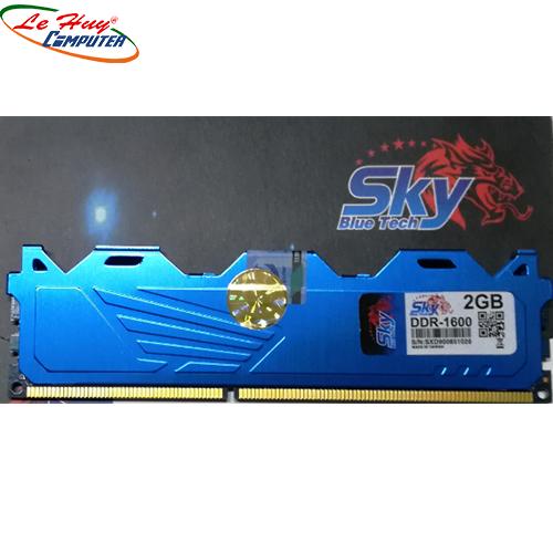 Ram Máy Tính Sky 2gb/1600 tản nhiệt thép