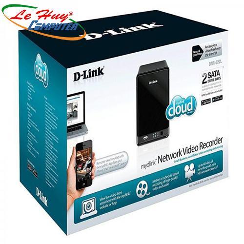 Hộp ổ cứng mạng 2 Bay Dlink DNR-322L