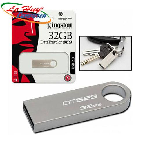 USB KINGSTON DTSE9 32GB CTY— vỏ thép