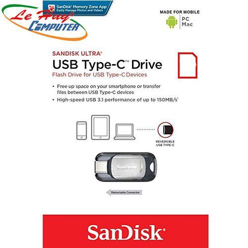 SANDISK 64GB CZ450 (USB 3.1)