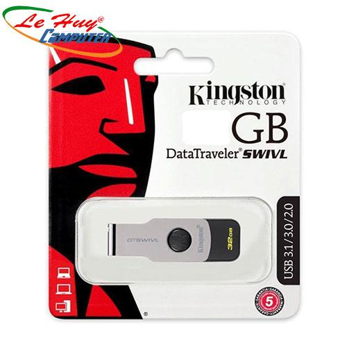 USB KINGSTON 64G(SWIVL G3) 3.0 SPC
