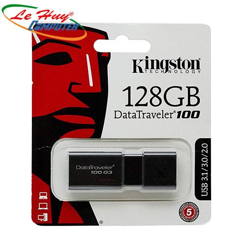 USB KINGSTON 128G USB 3.0 DataTraveler 100 G3