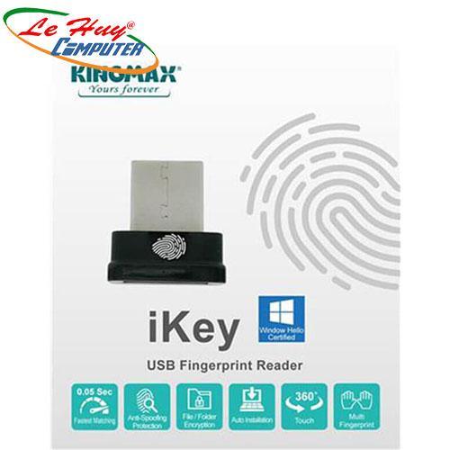 USB Kingmax IKEY TINY USB(THIẾT BỊ MÃ HÓA DỮ LIỆU VÂN TAY)
