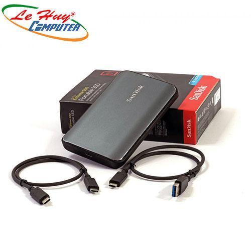 Ổ cứng di động SSD Sandisk Extreme 900 Portable 480Gb USB3.0 Black