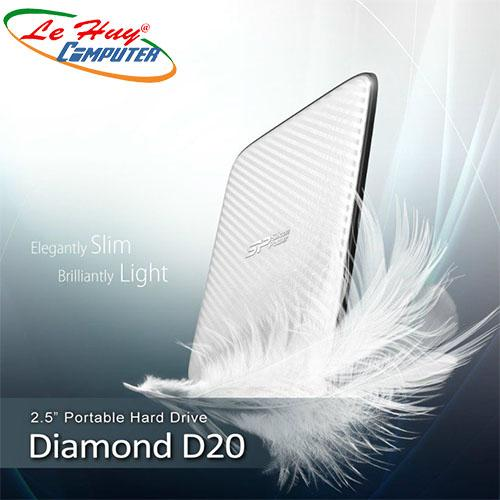 Ổ cứng di động HDD Silicon Power 1TB Diamond D20 USB 3.0