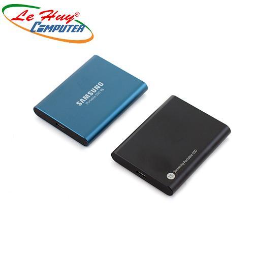 Ổ cứng di động SSD SamsungT5 - 500GB(MU-PA500B/WW) (Xanh/Vàng/Đỏ) USB 3.0 /3.1