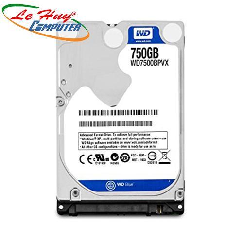 HDD - Ổ Cứng Laptop Western 750Gb SATA (6Gb/s) -5400 Rpm BLUE