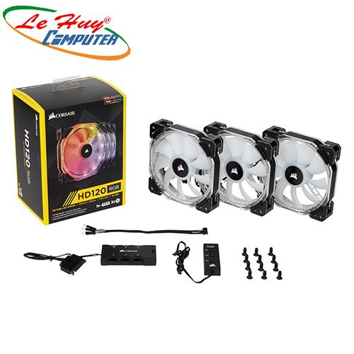Fan Case Cosair SP 120 RGB LED - Hộp 3 FAN - with controller