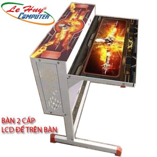 Bàn Chơi Game 2 Tầng LCD Để Trên bàn