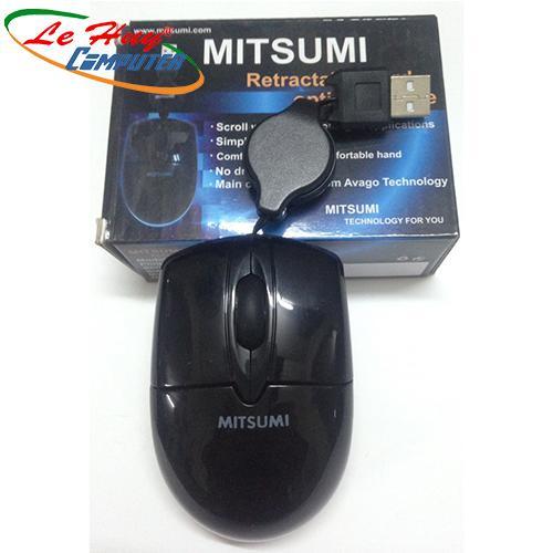 Chuột máy tính Mitsumi 6603 rút Chính Hảng Tem MT