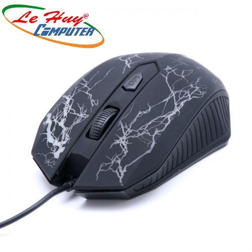 Chuột máy tính ASUS/HP 4D GAMER LED MÀU