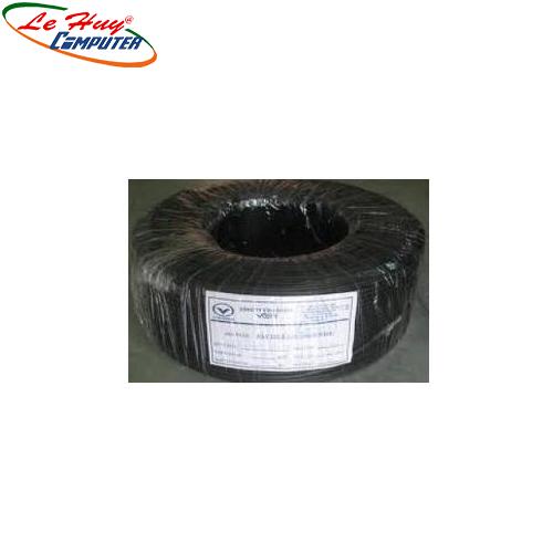 Cable VIỄN THÔNG 2 SỢI(RUỘT) cuộn 100m đen/trắng 255.000