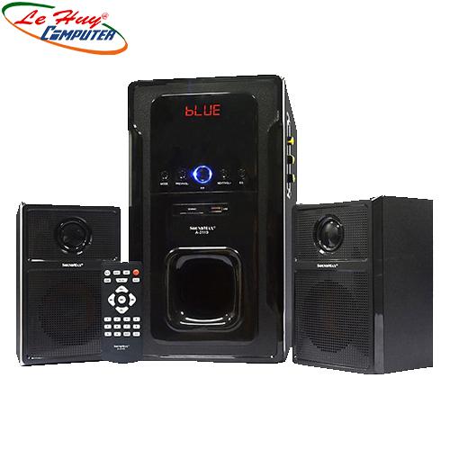 Loa vi tính SoundMax A2119 2.1 NEW usb,khe cắm thẻ nhớ, bluetooth