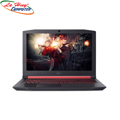 Máy tính xách tay/ Laptop Acer Nitro AN515-52-51LW, Core i5-8300H(2.30 GHz,8MB)/8GB/128GB SSD/1TB/NVIDIA GF GTX 1050Ti 4GB/15.6''FHD