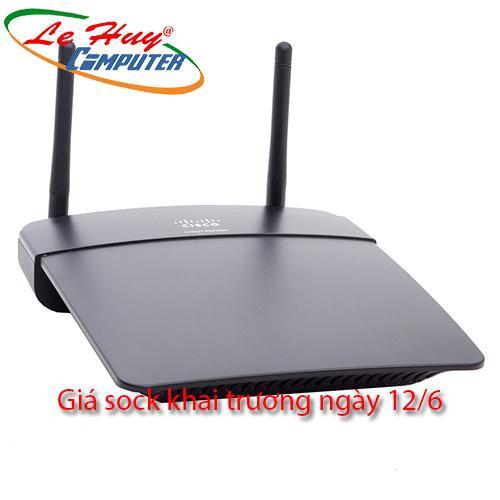 Linksys EA2750 - Router Wifi Chuẩn N 600Mbps ( SL có hạn )