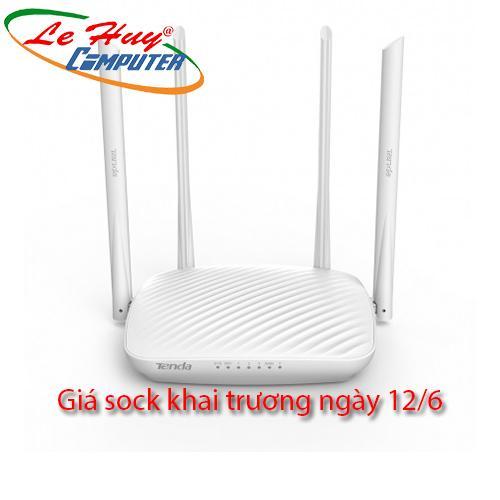 Thiết bị mạng - Router Tenda F9 600Mbps - 4 Antens