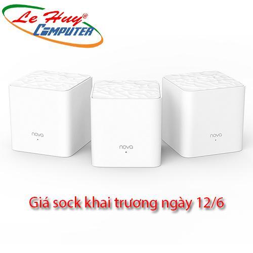 Router Wifi Mesh Tenda NOVA MW3 (3 Pack)