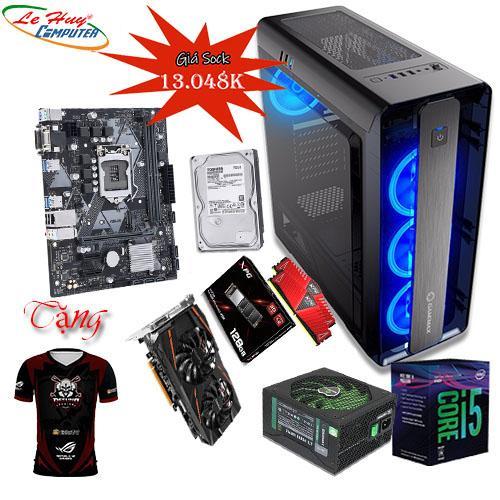 LHC-game02 (i5-9400F/Ram 16G( 8x2)/Ssd 128G m2-2280/Vga gigabyte 570/8G / Nguồn 700W/ CASE GAMEMAX MOONLIGHT 4 đèn led)