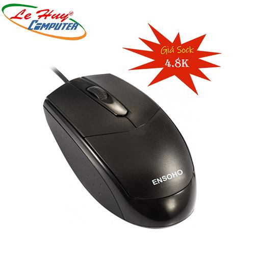MOUSE ENSOHO OPTICAL E216B USB